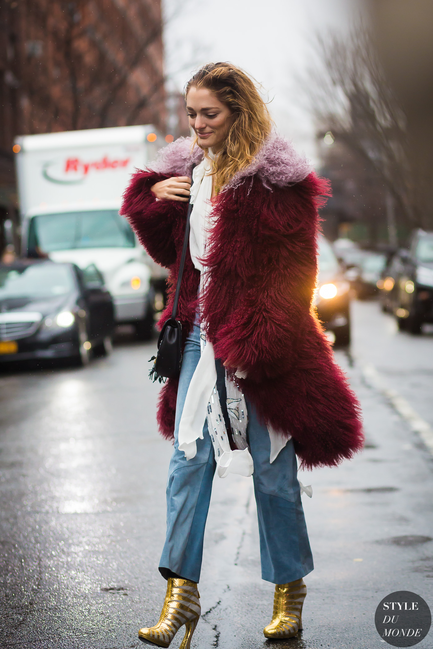New York Fashion Week Fw 2016 Street Style Sofia Sanchez