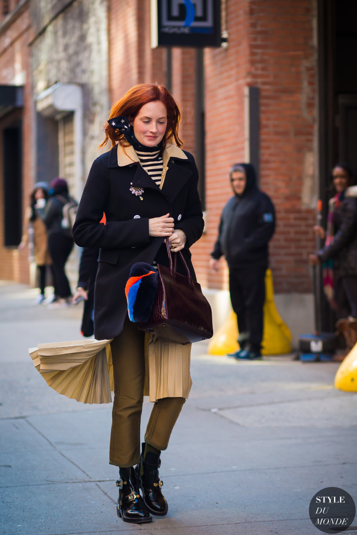 New York Fashion Week Fw 2015 Street Style Taylor Tomasi Hill Style Du Monde Street Style