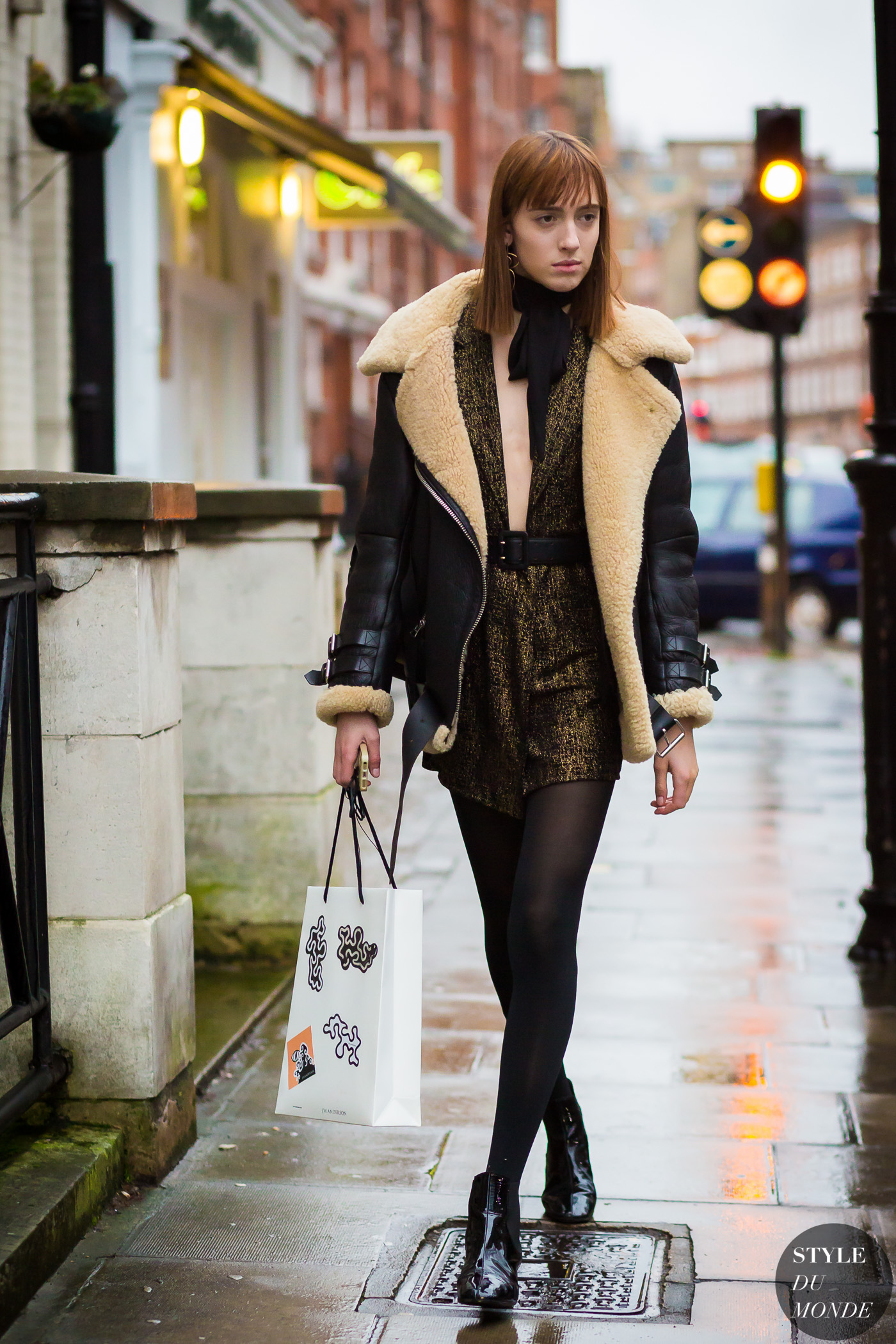 Teddy Quinlivan Street Style Street Fashion Streetsnaps by STYLEDUMONDE Street Style Fashion Photography