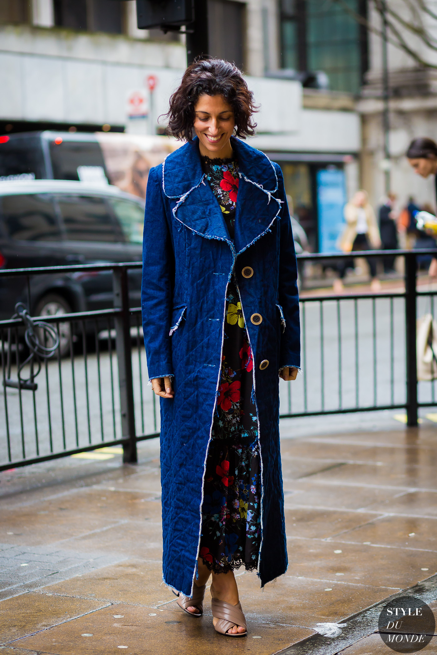 London Fashion Week Fw 2016 Street Style Yasmin Sewell