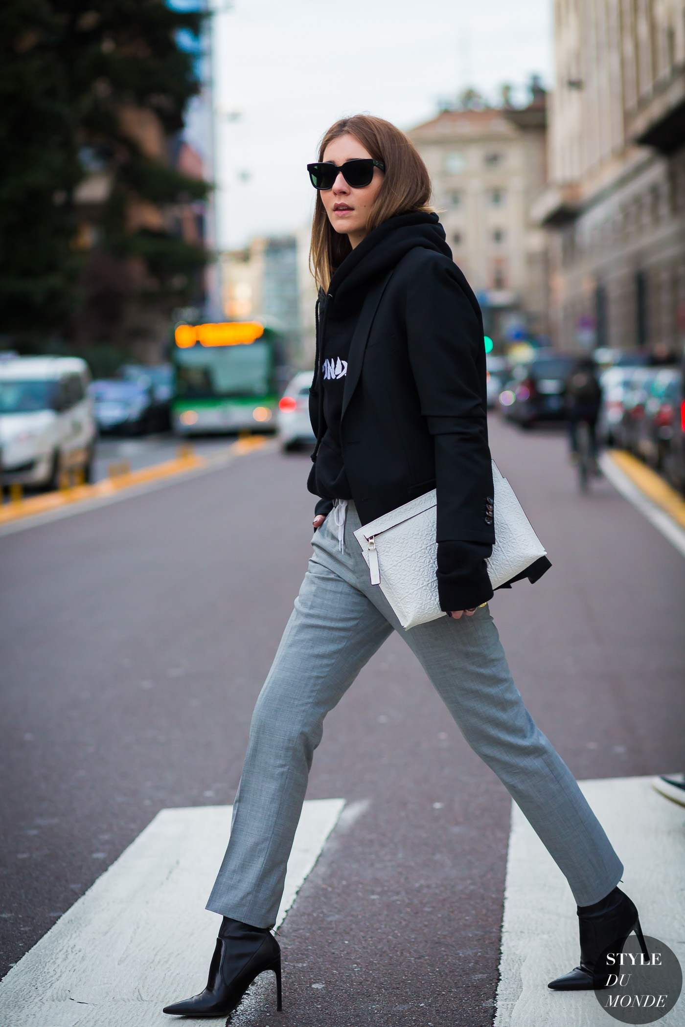 Chiara Capitani Street Style Street Fashion Streetsnaps by STYLEDUMONDE Street Style Fashion Photography