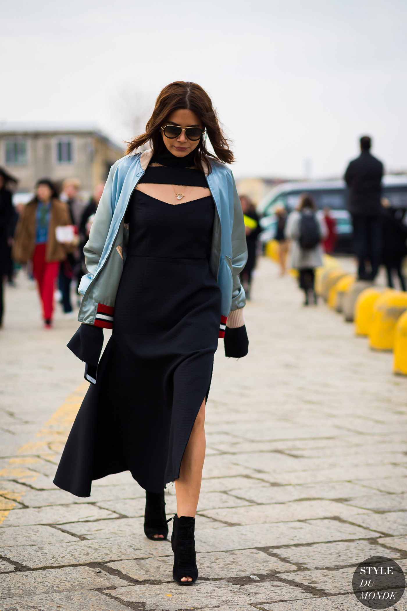 Christine Centenera Street Style Street Fashion Streetsnaps by STYLEDUMONDE Street Style Fashion Photography