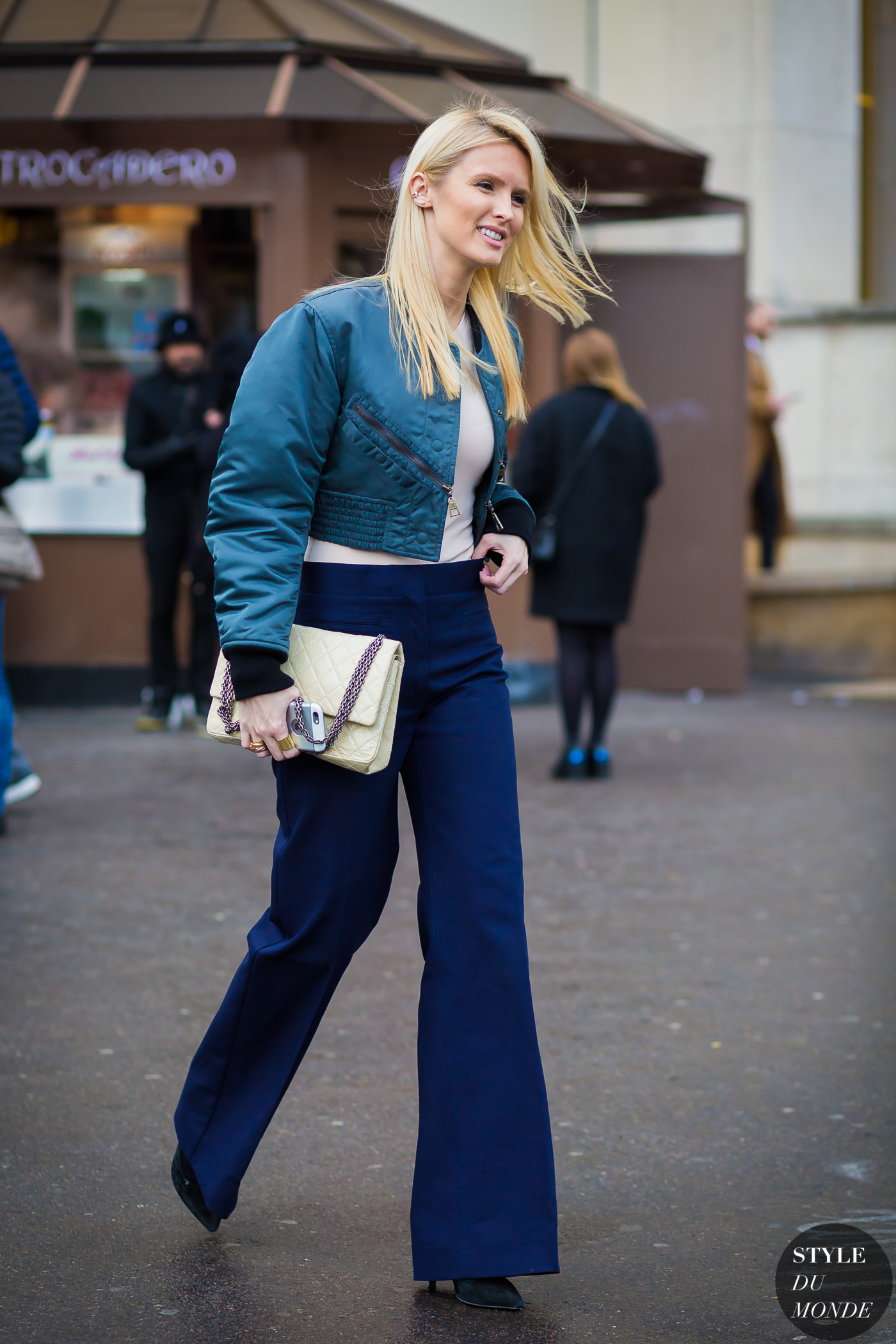 Kate Davidson Hudson Street Style Street Fashion Streetsnaps by STYLEDUMONDE Street Style Fashion Photography