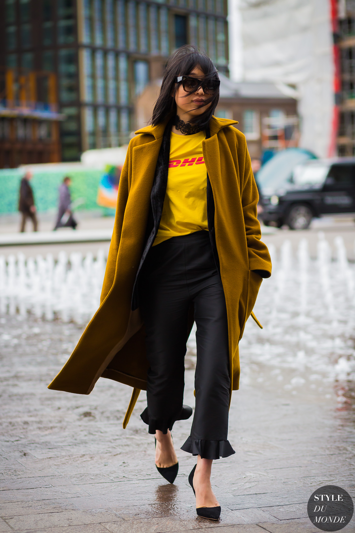 Margaret Zhang Street Style Street Fashion Streetsnaps by STYLEDUMONDE Street Style Fashion Photography