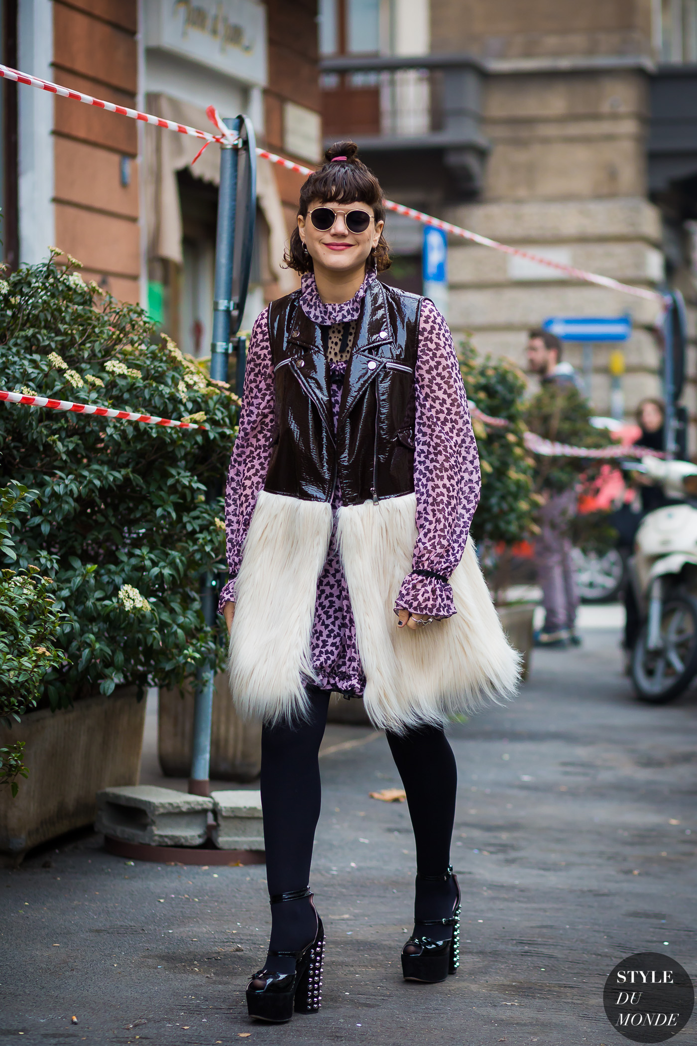 Soko Stephanie Sokolinski Street Style Street Fashion Streetsnaps by STYLEDUMONDE Street Style Fashion Photography