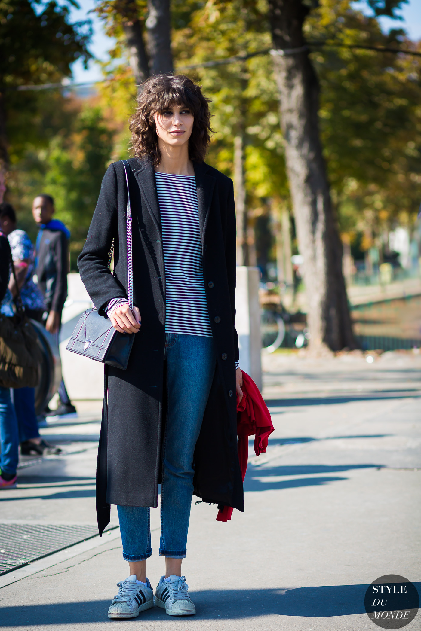 Mica Arganaraz Street Style Street Fashion Streetsnaps by STYLEDUMONDE Street Style Fashion Photography