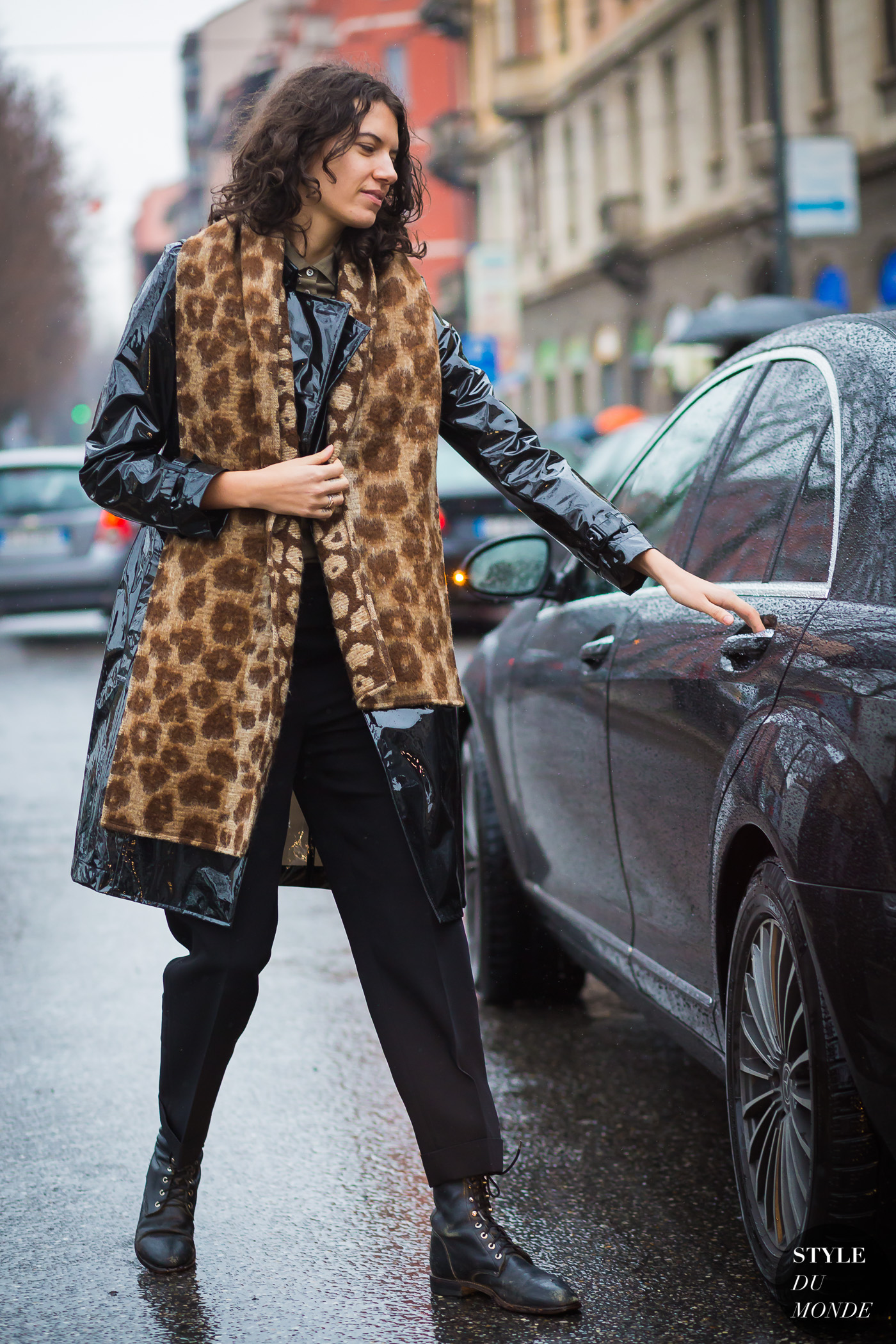 Stella Greenspan Street Style Street Fashion Streetsnaps by STYLEDUMONDE Street Style Fashion Photography