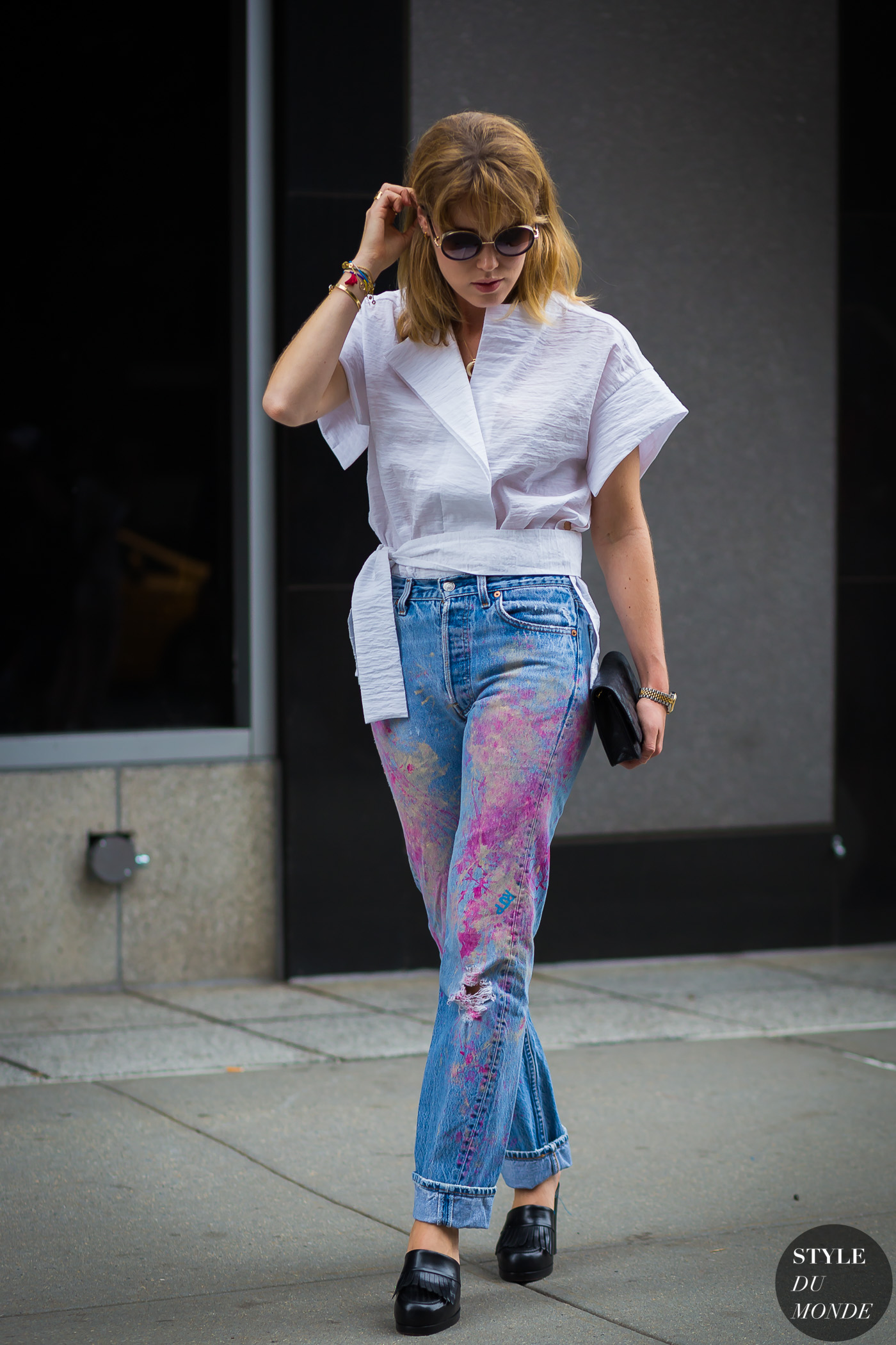 Annabel Rosendahl Street Style Street Fashion Streetsnaps by STYLEDUMONDE Street Style Fashion Photography