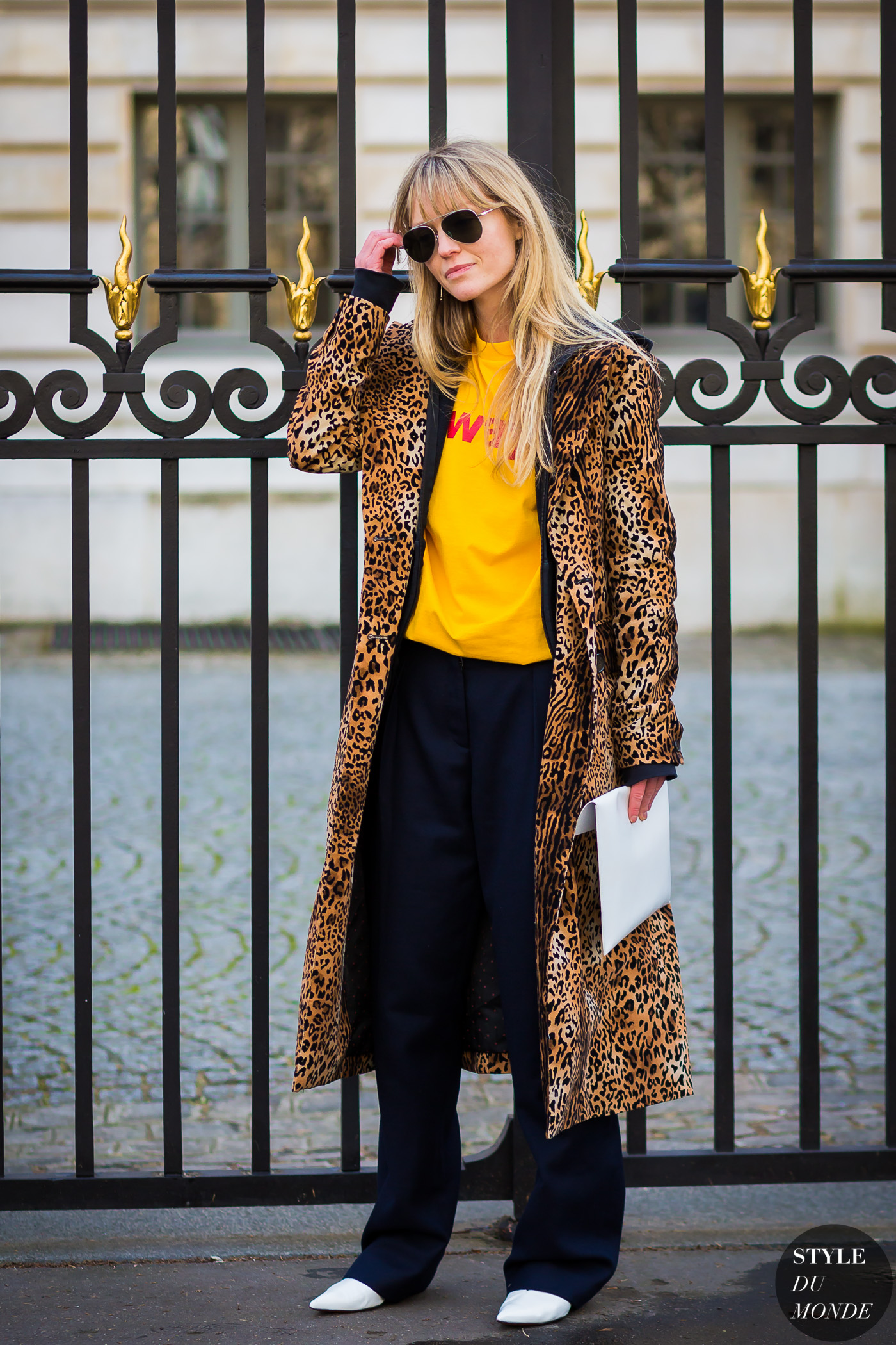 Jeanette Friis Madsen Street Style Street Fashion Streetsnaps by STYLEDUMONDE Street Style Fashion Photography