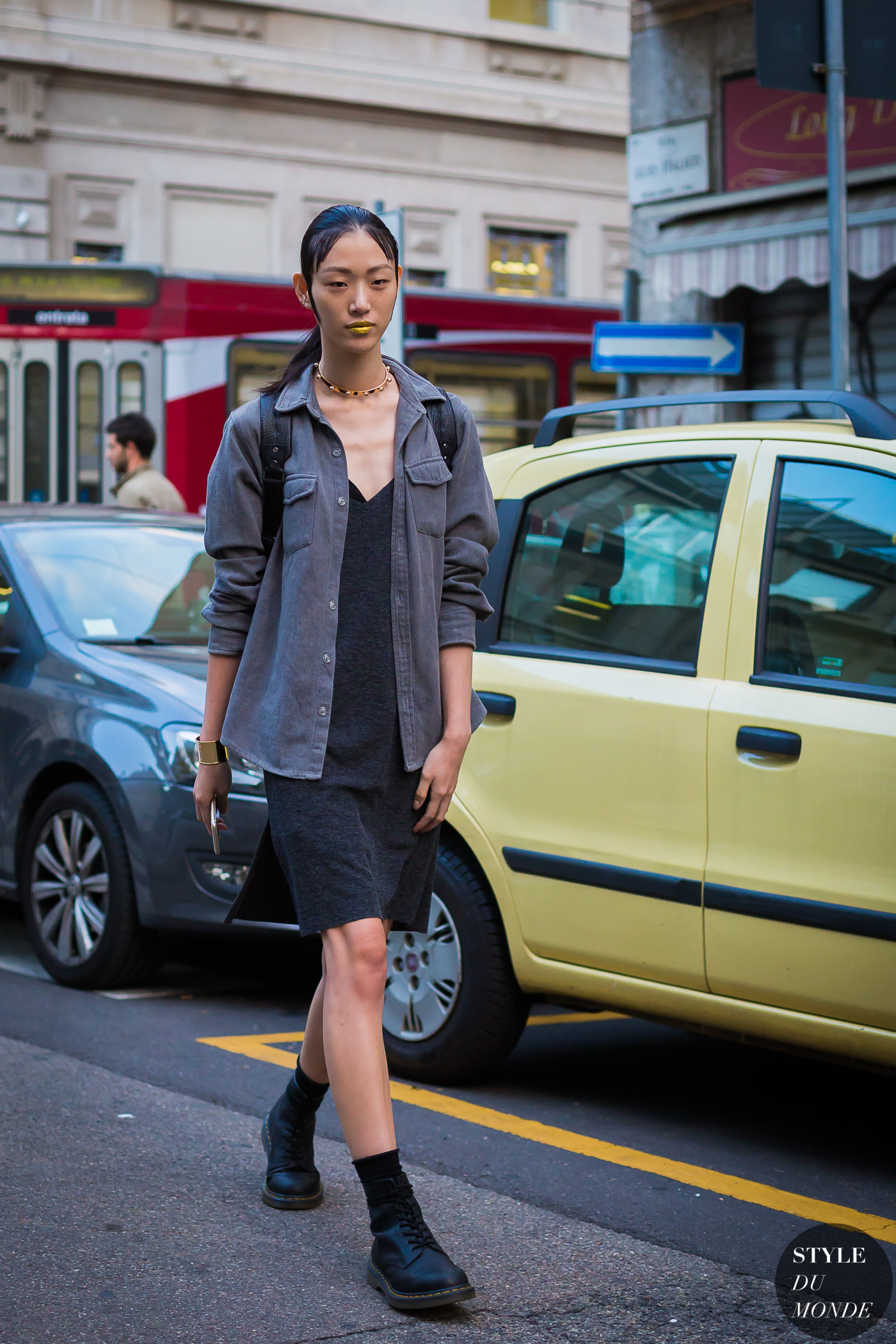Sora Choi Street Style Street Fashion Streetsnaps by STYLEDUMONDE Street Style Fashion Photography