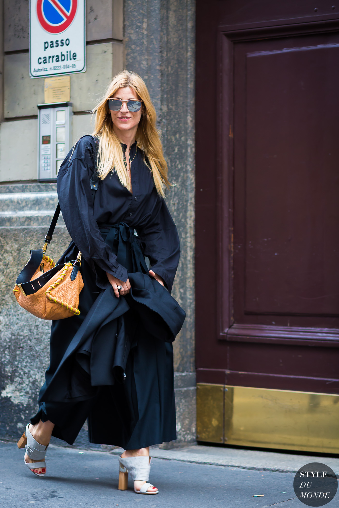 Ada Kokosar Street Style Street Fashion Streetsnaps by STYLEDUMONDE Street Style Fashion Photography