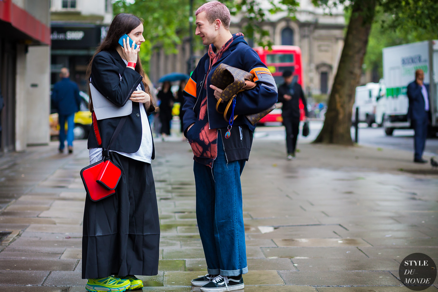 Before Liam Hodges Street Style Street Fashion Streetsnaps by STYLEDUMONDE Street Style Fashion Photography