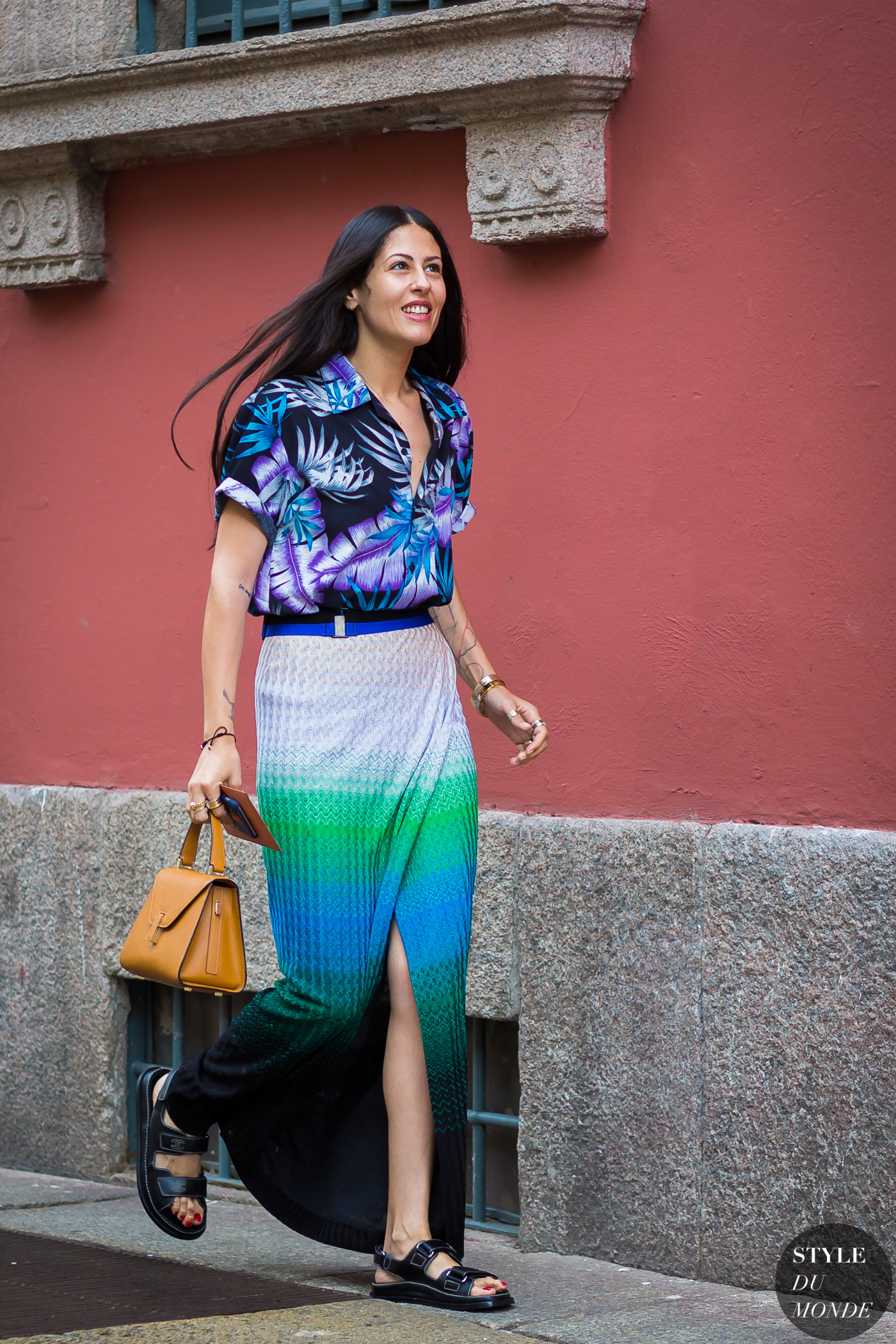 Gilda Ambrosio Street Style Street Fashion Streetsnaps by STYLEDUMONDE Street Style Fashion Photography