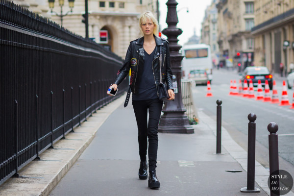 Marjan Jonkman Street Style Street Fashion Streetsnaps by STYLEDUMONDE Street Style Fashion Photography
