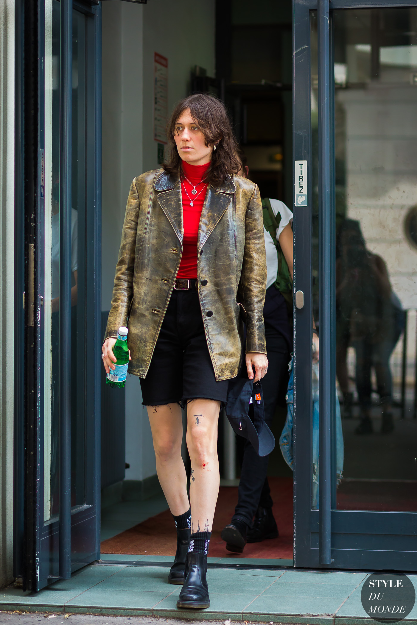 Maud Escudier Street Style Street Fashion Streetsnaps by STYLEDUMONDE Street Style Fashion Photography
