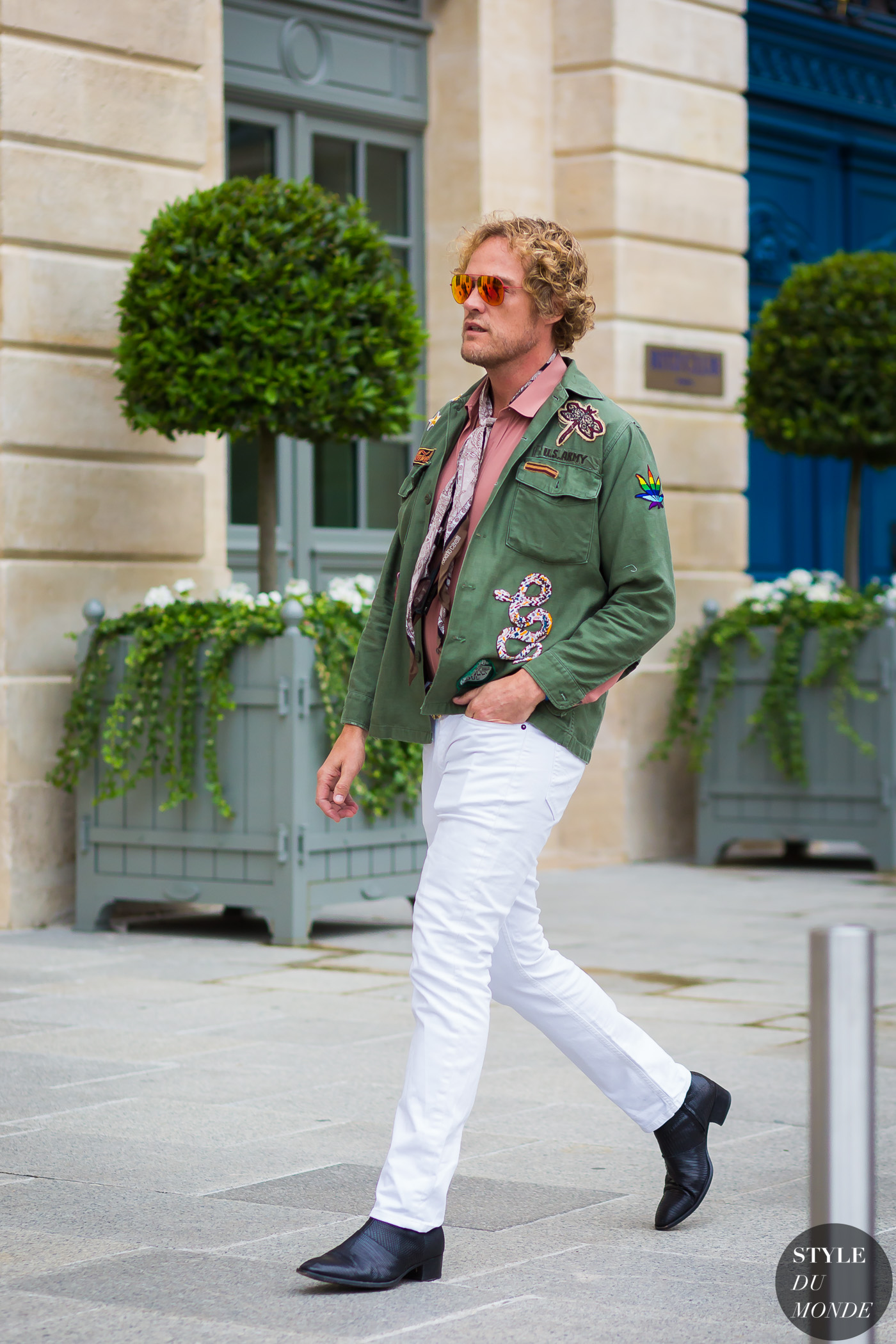 Peter Dundas Street Style Street Fashion Streetsnaps by STYLEDUMONDE Street Style Fashion Photography