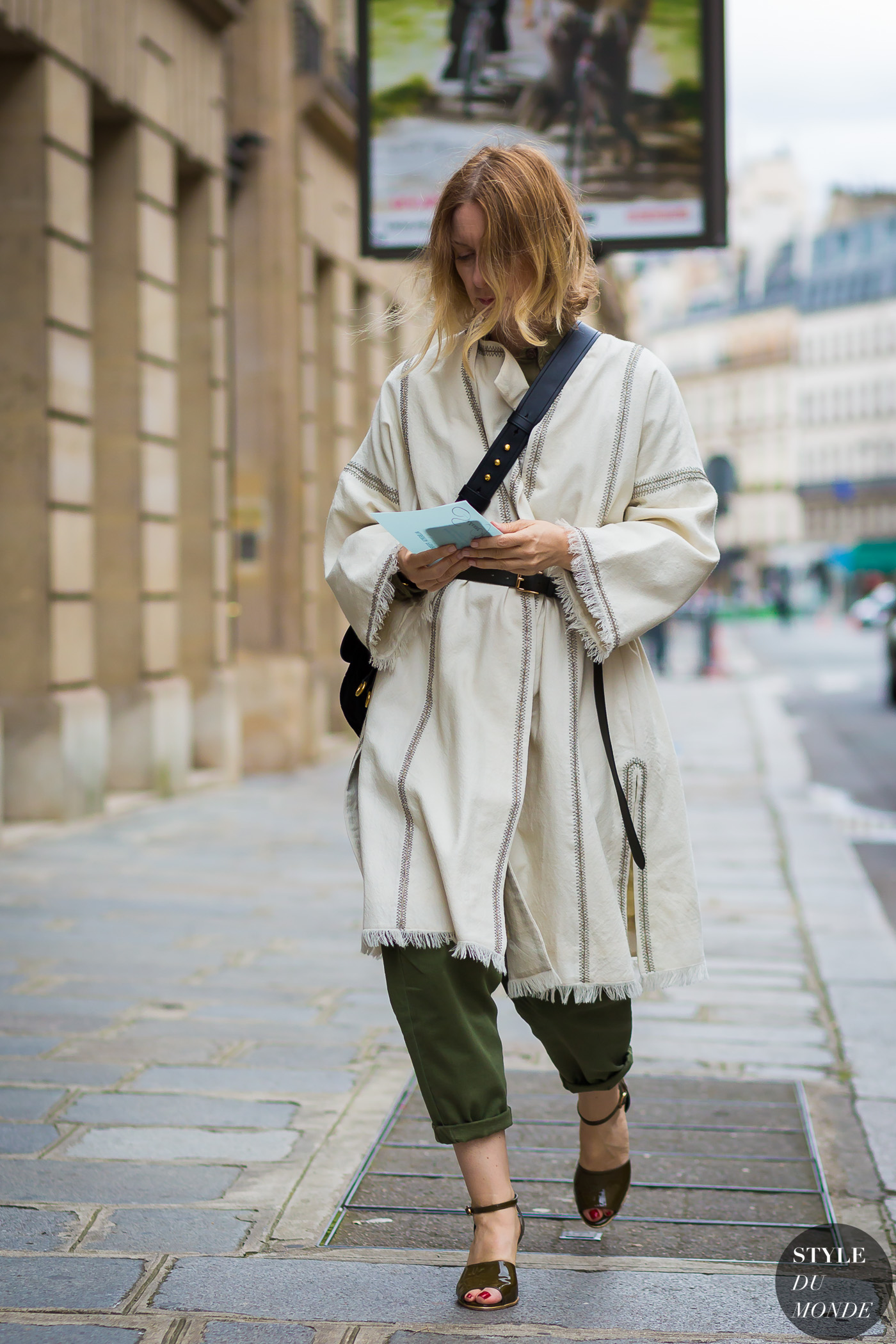 Suzanne Koller Street Style Street Fashion Streetsnaps by STYLEDUMONDE Street Style Fashion Photography
