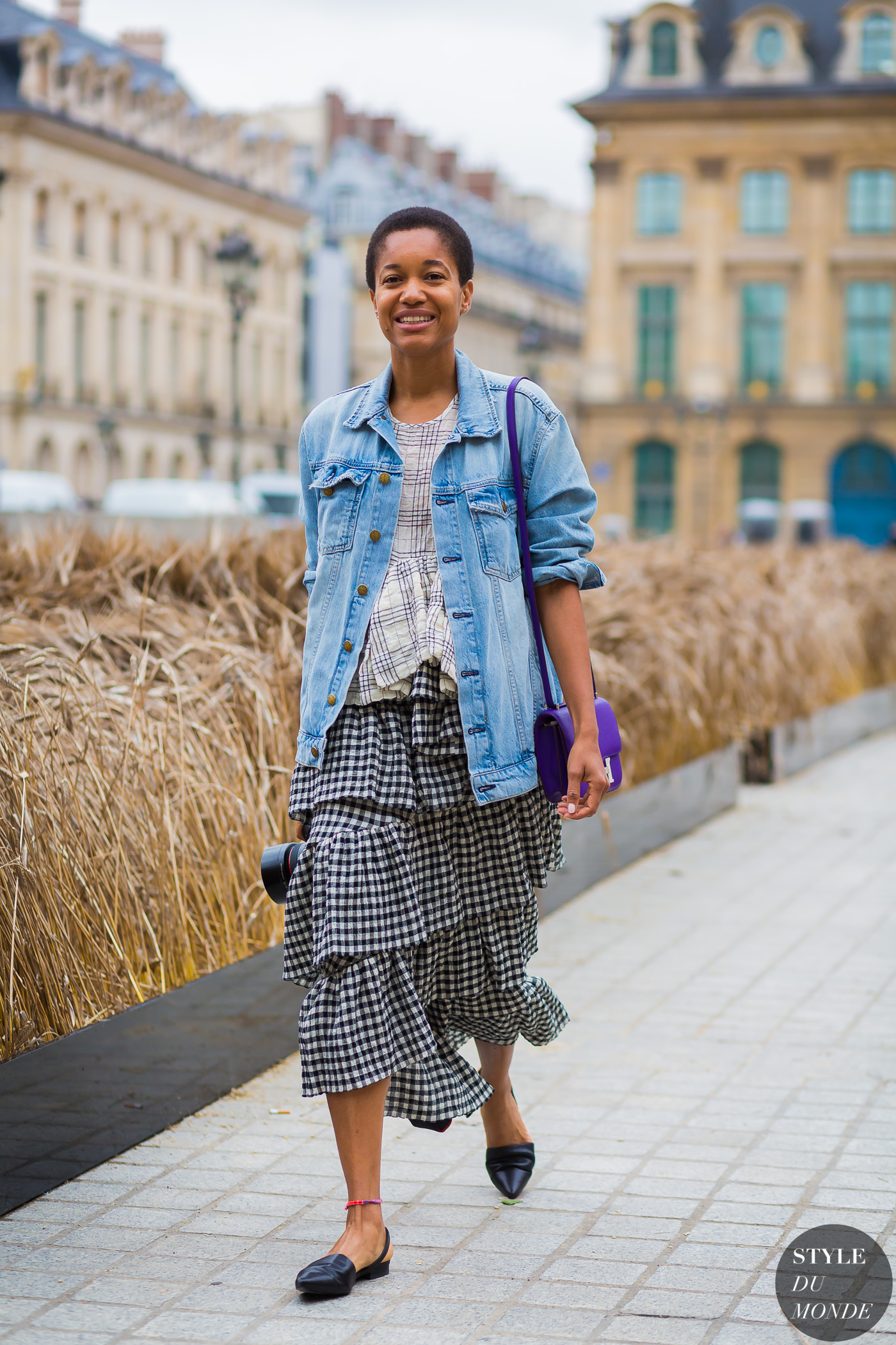Tamu McPherson Street Style Street Fashion Streetsnaps by STYLEDUMONDE Street Style Fashion Photography
