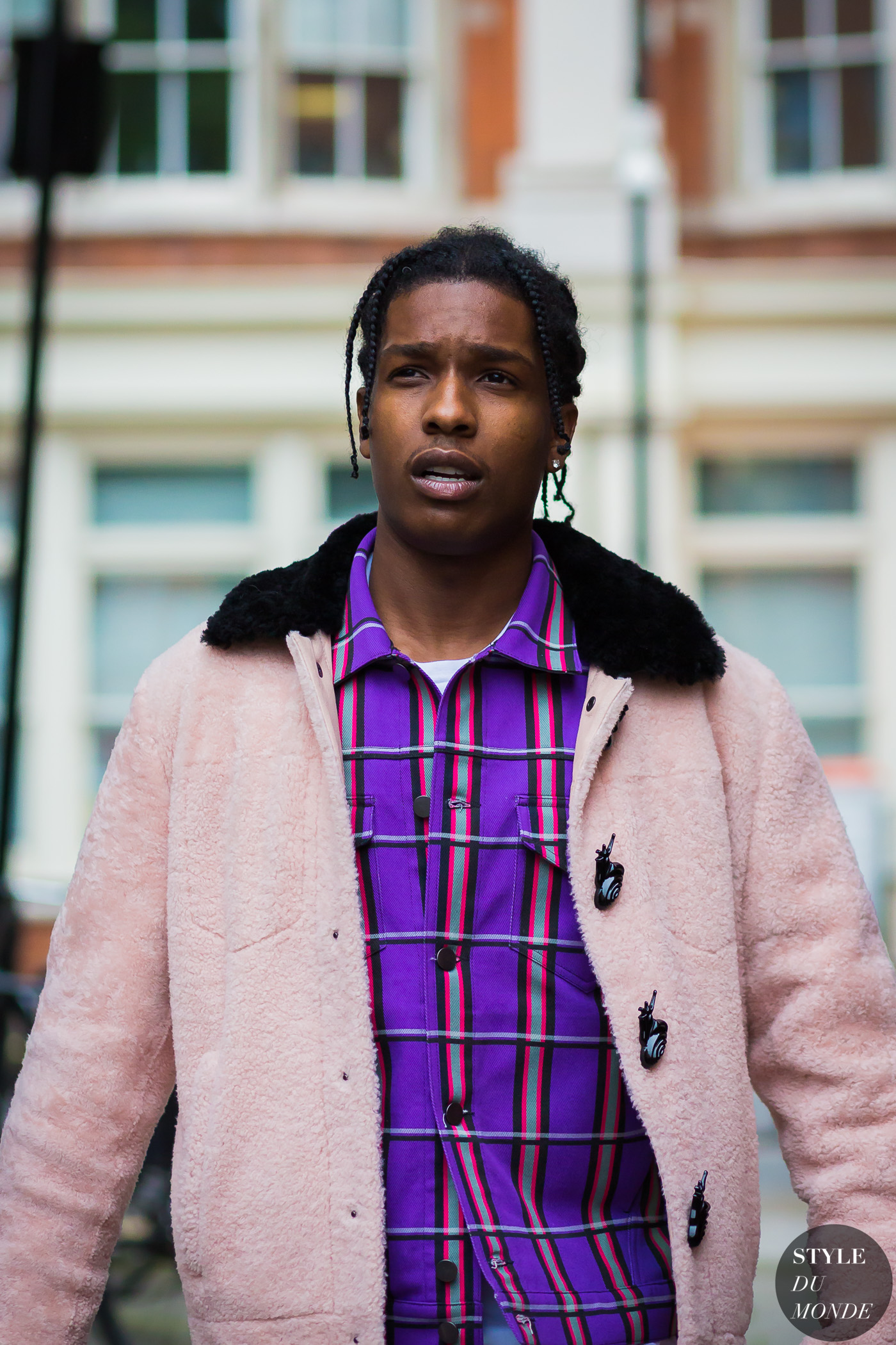 ASAP Rocky before J.W. Anderson at London Collections Men SS17