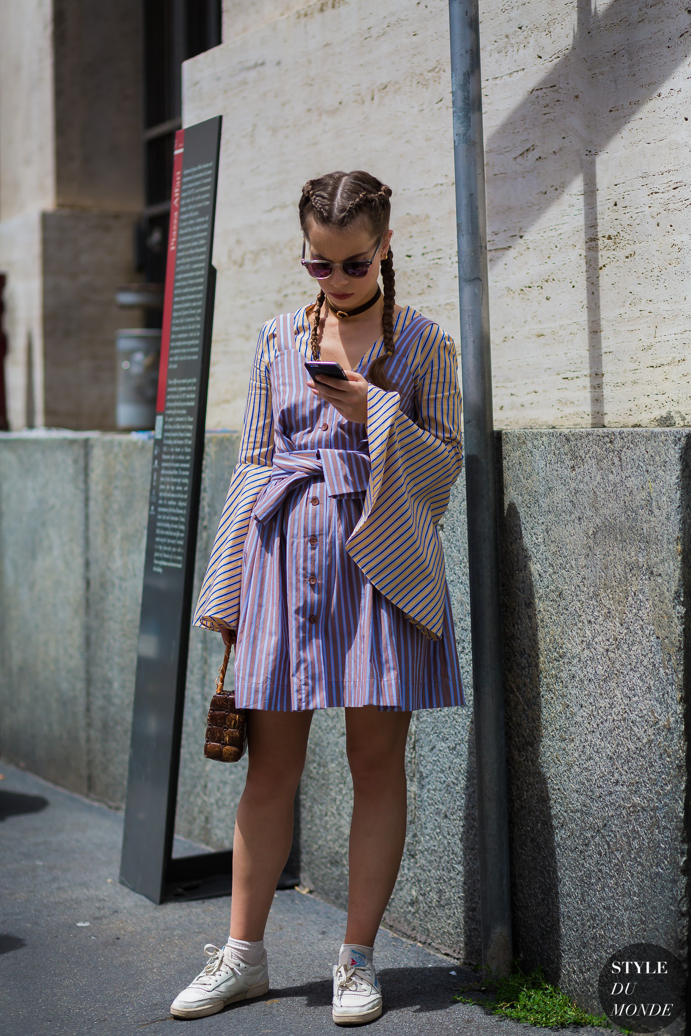 Before Salvatore Ferragamo by STYLEDUMONDE Street Style Fashion Photography