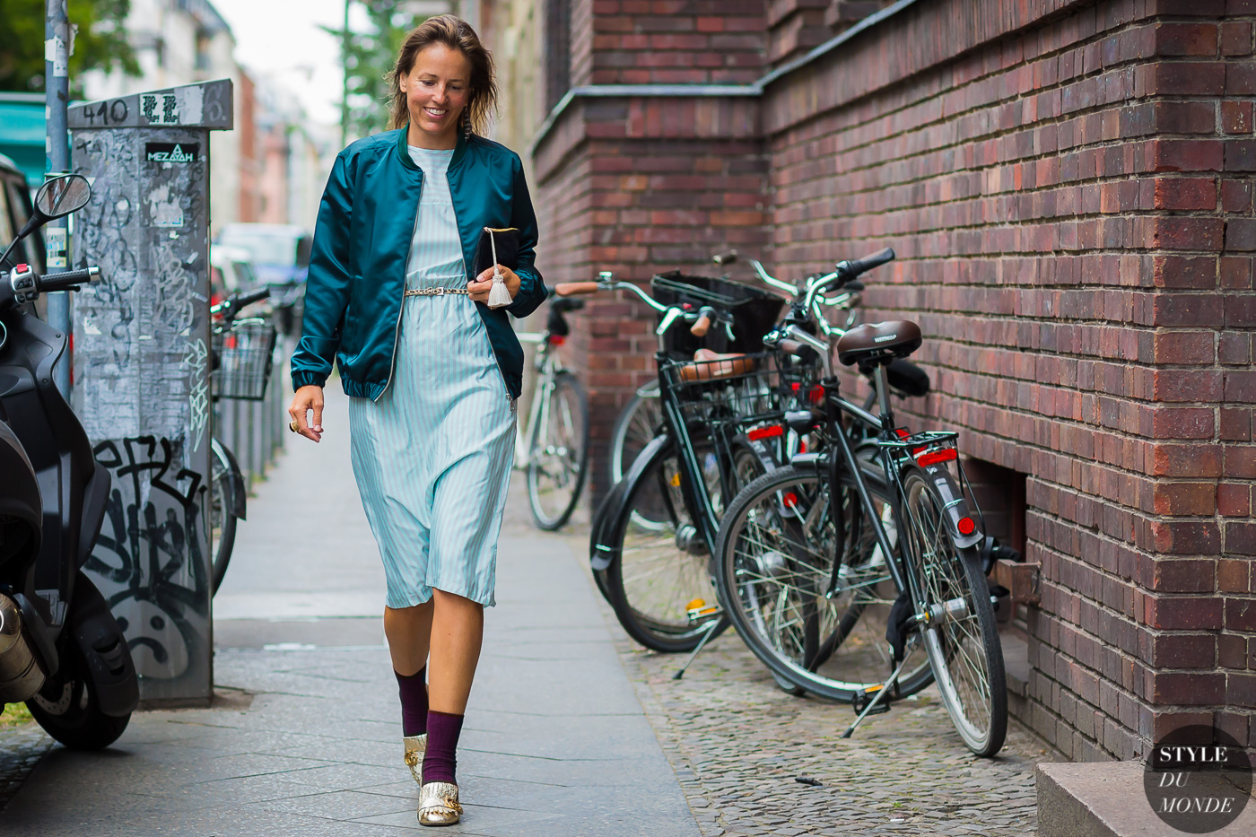 Berlin streetstyle by STYLEDUMONDE Street Style Fashion Photography