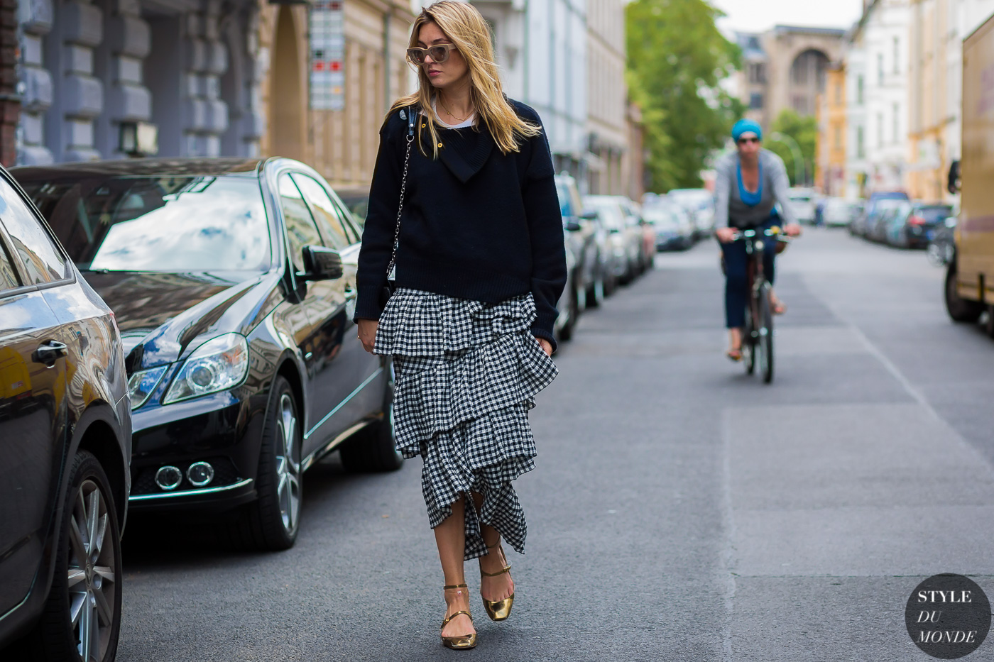 Camille charriere Celine fashion street style