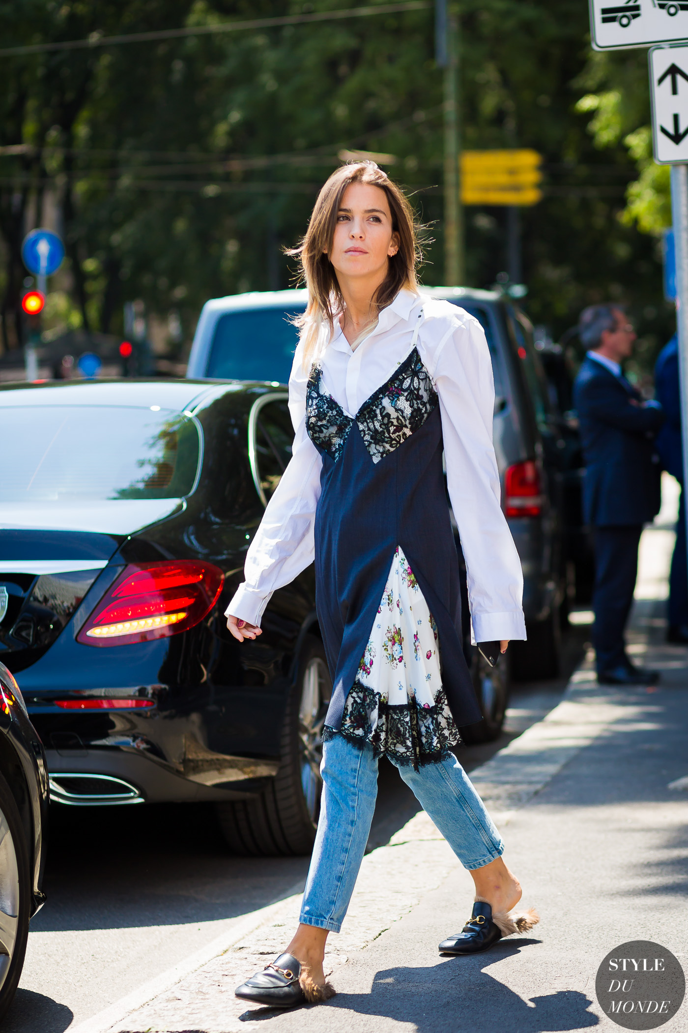 Carola Bernard Street Style Street Fashion Streetsnaps by STYLEDUMONDE Street Style Fashion Photography