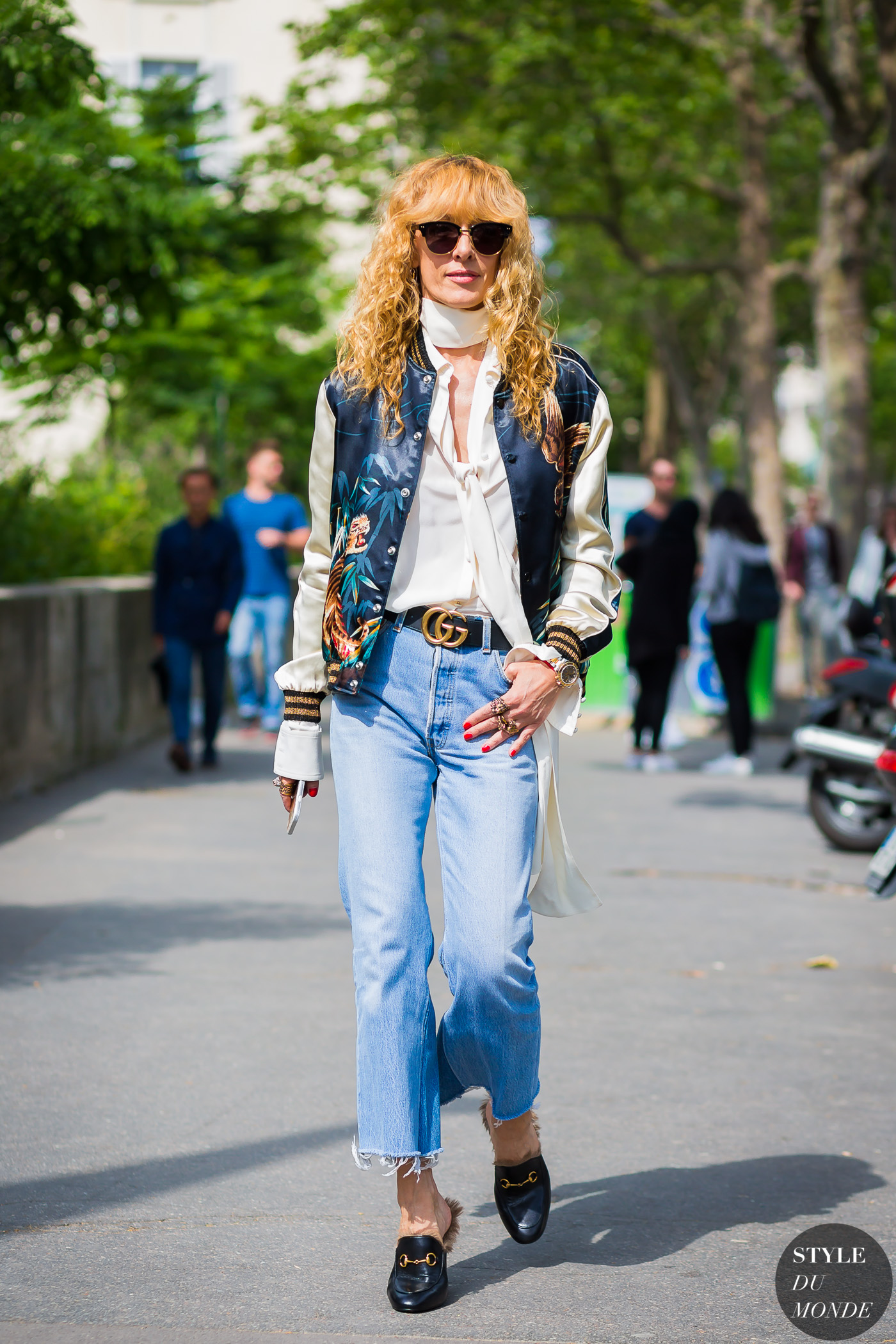 Elina Halimi Street Style Street Fashion Streetsnaps by STYLEDUMONDE Street Style Fashion Photography