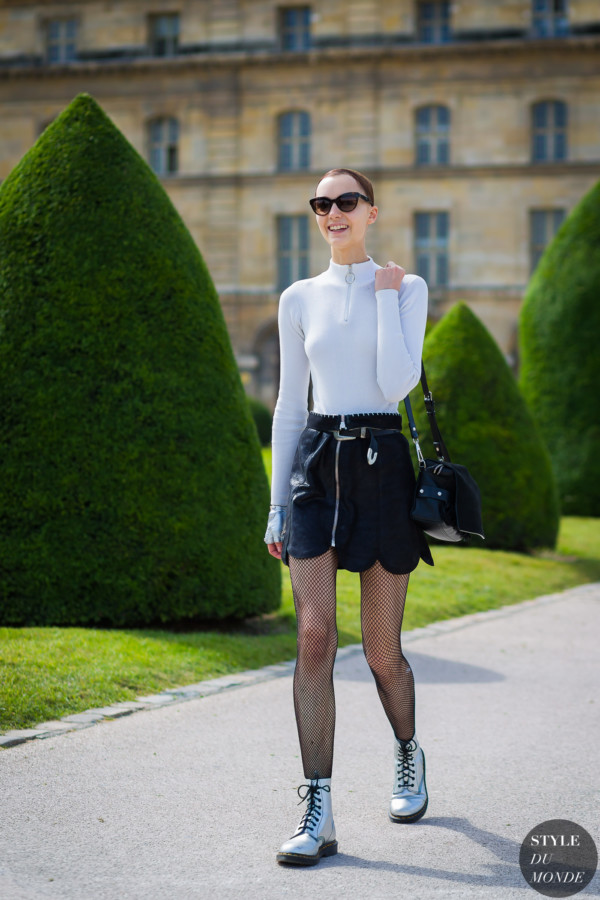 Irina Liss Street Style Street Fashion Streetsnaps by STYLEDUMONDE Street Style Fashion Photography