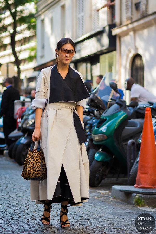Justine Lee Street Style Street Fashion Streetsnaps by STYLEDUMONDE Street Style Fashion Photography