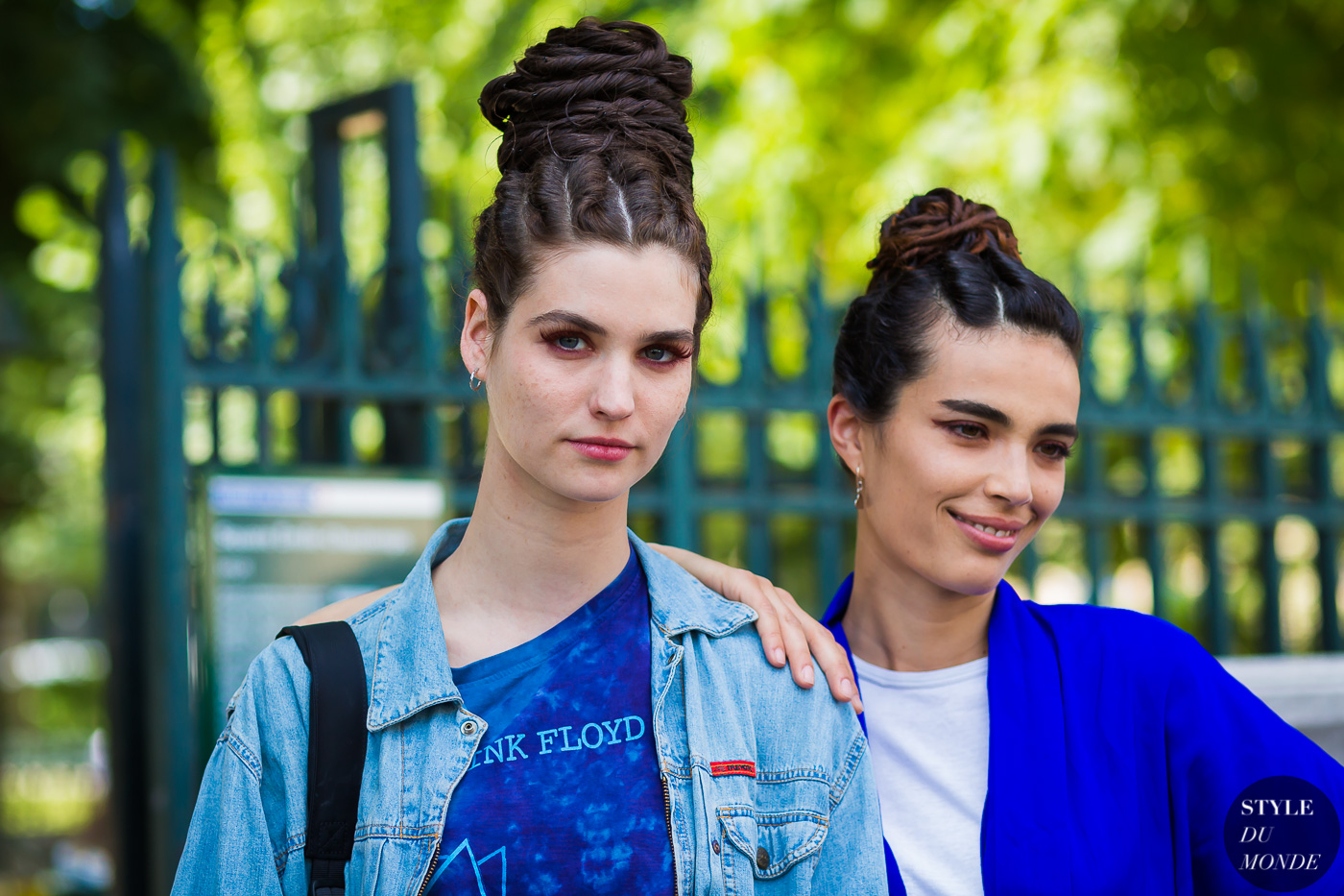 Manon Leloup and Marie Meyer by STYLEDUMONDE Street Style Fashion Photography