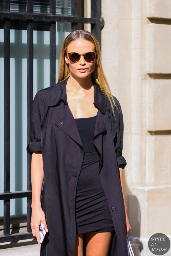 Natasha Poly Street Style Street Fashion Streetsnaps by STYLEDUMONDE Street Style Fashion Photography