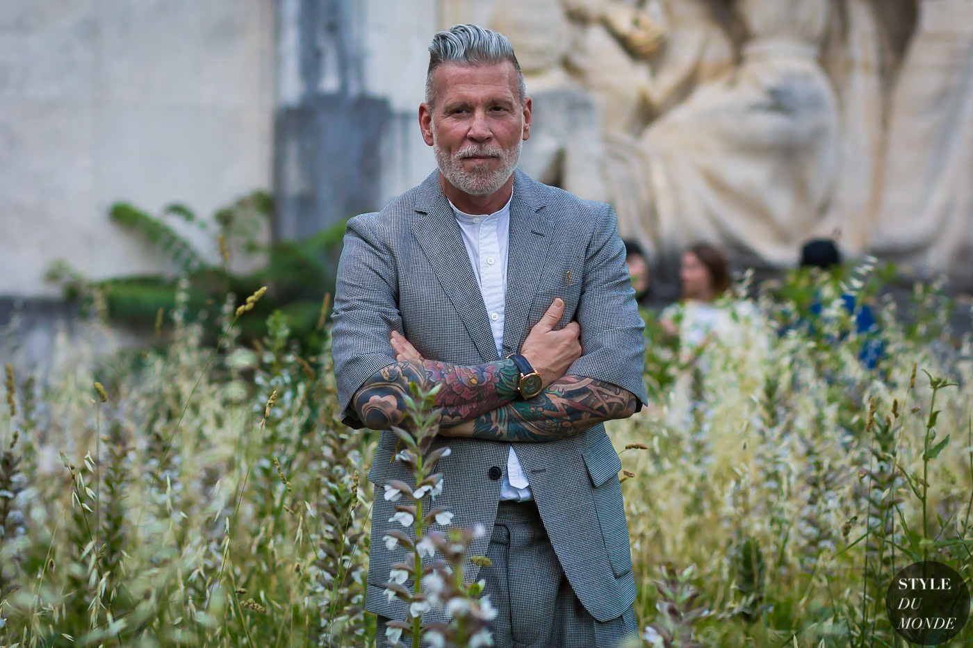 Nick Wooster by STYLEDUMONDE Street Style Fashion Photography