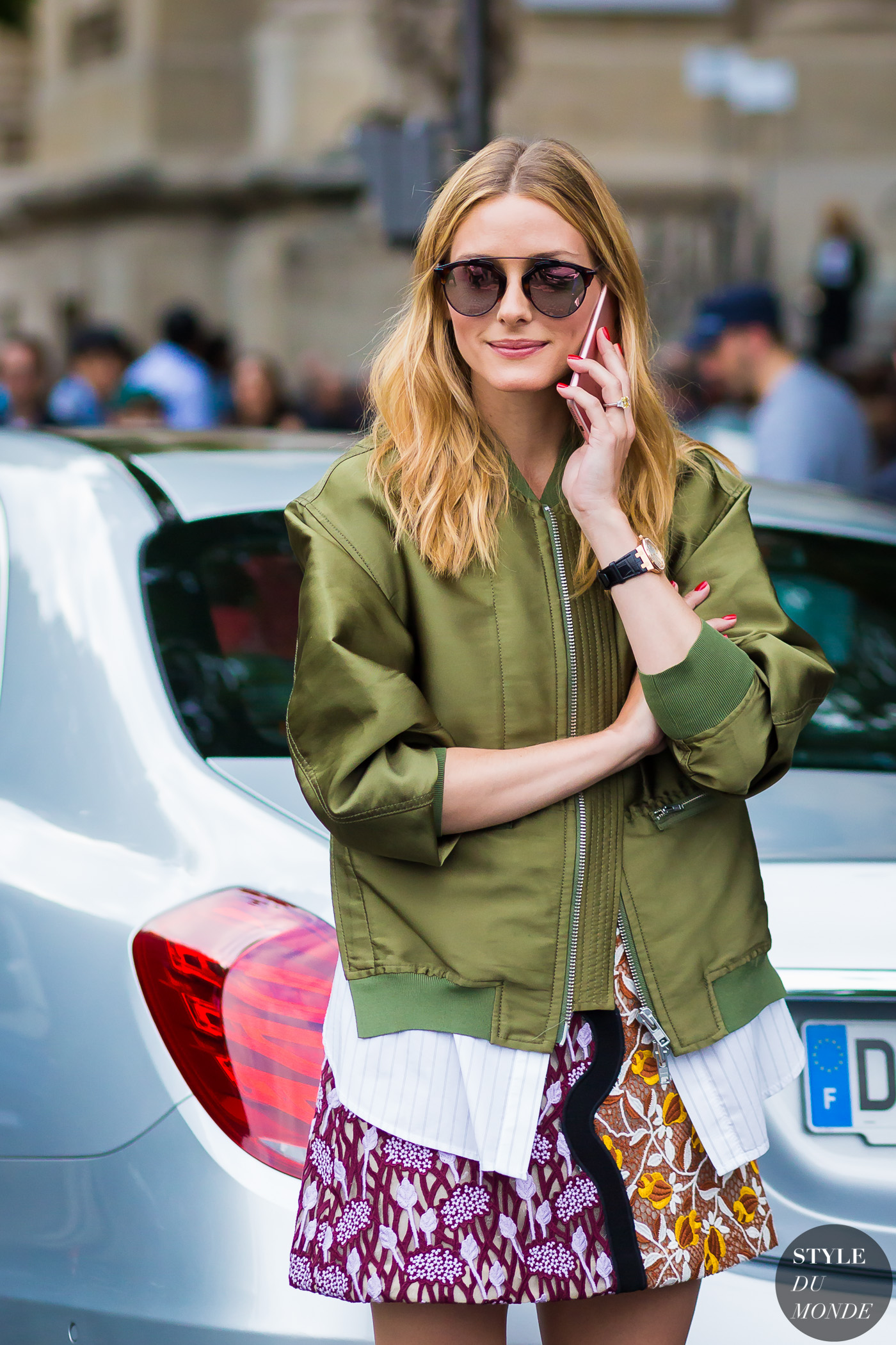 Olivia Palermo Street Style Street Fashion Streetsnaps by STYLEDUMONDE Street Style Fashion Photography