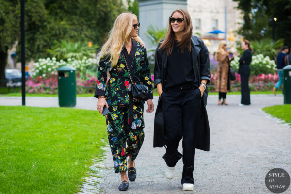 Stockholm SS 2017 Street Style: Between the shows