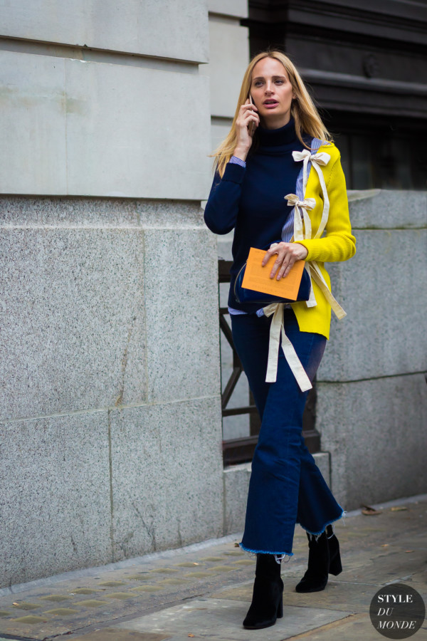 London SS 2017 Street Style: Lauren Santo Domingo