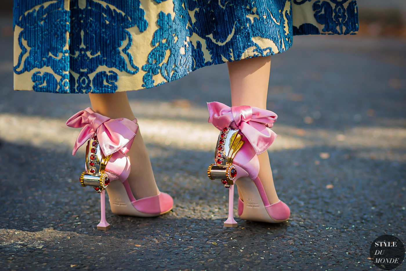 Miu Miu shoes by STYLEDUMONDE Street Style Fashion Photography