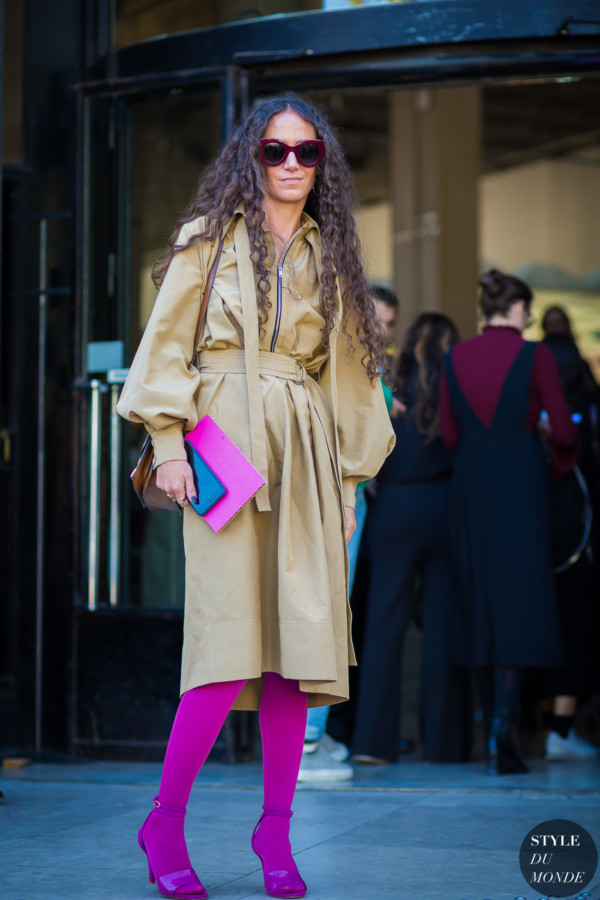 Ondine Azoulay Street Style Street Fashion Streetsnaps by STYLEDUMONDE Street Style Fashion Photography