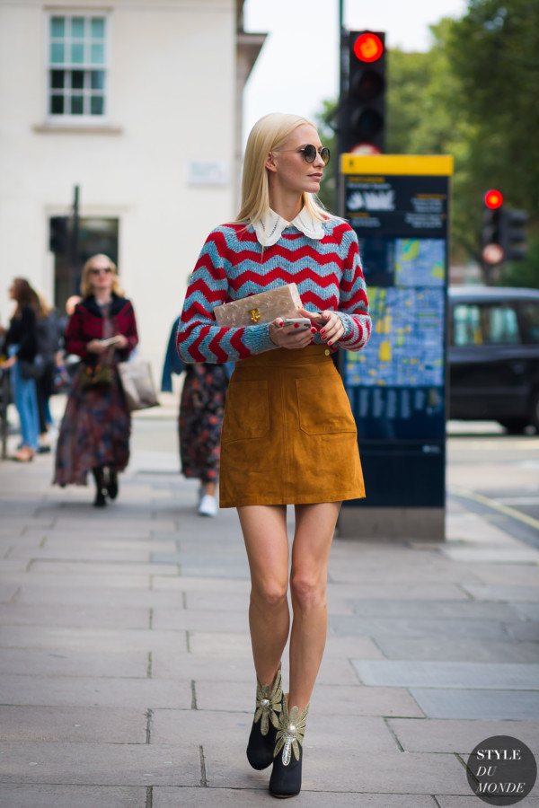Poppy Delevingne by STYLEDUMONDE Street Style Fashion Photography