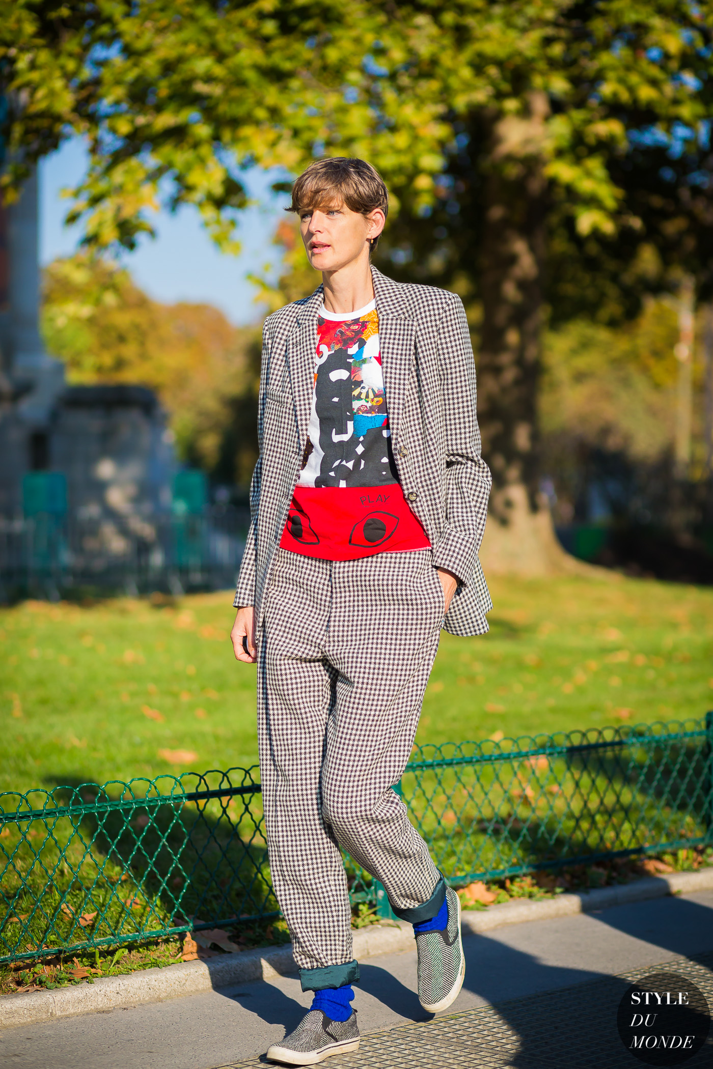 Stella Tennant by STYLEDUMONDE Street Style Fashion Photography