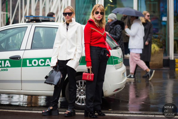 Celine Aagaard and Annabel Rosendahl by STYLEDUMONDE Street Style Fashion Photography