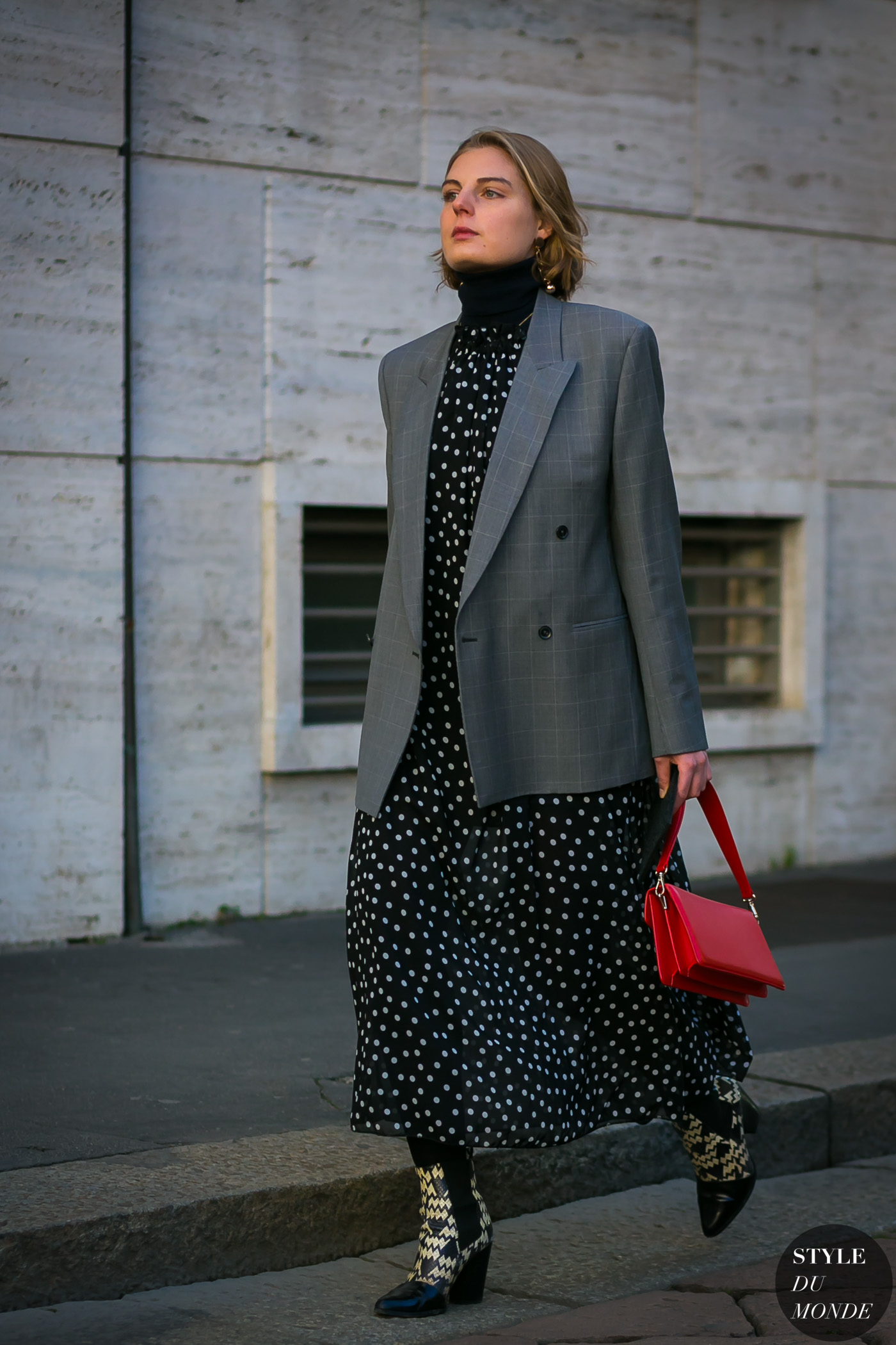 Claire Beermann by STYLEDUMONDE Street Style Fashion Photography
