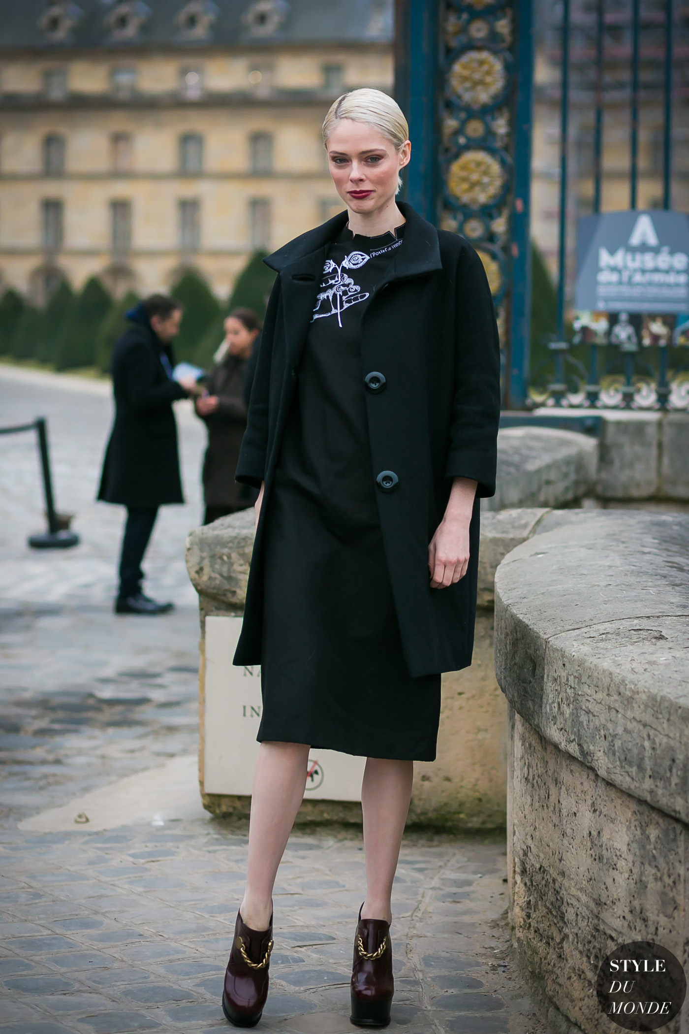 Coco Rocha by STYLEDUMONDE Street Style Fashion Photography
