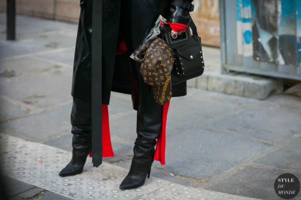 Louis Vuitton Supreme by STYLEDUMONDE Street Style Fashion Photography