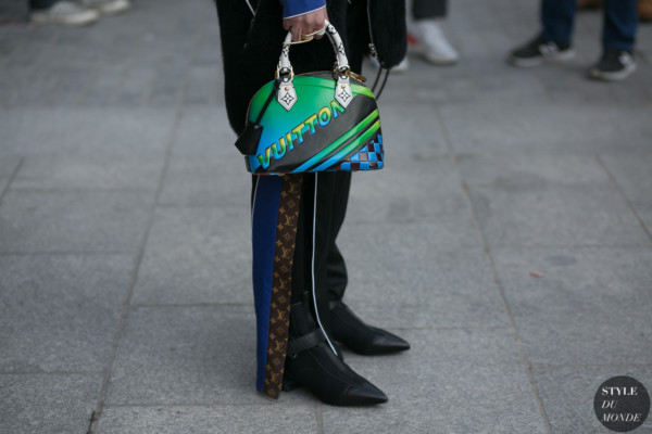 Louis Vuitton details by STYLEDUMONDE Street Style Fashion Photography