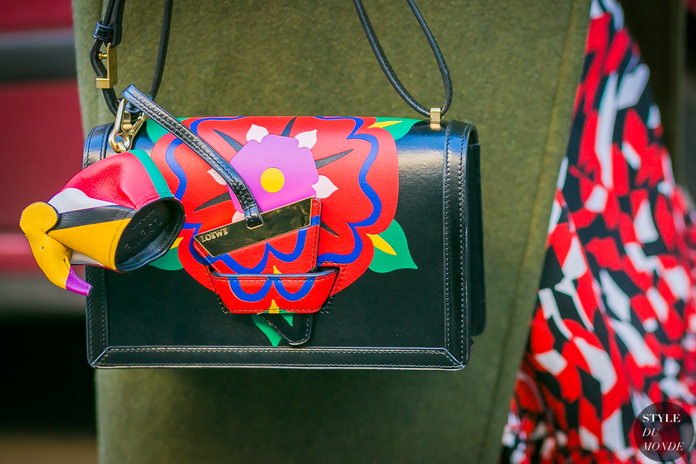 Sherry Shen Loewe Bag by STYLEDUMONDE Street Style Fashion Photography