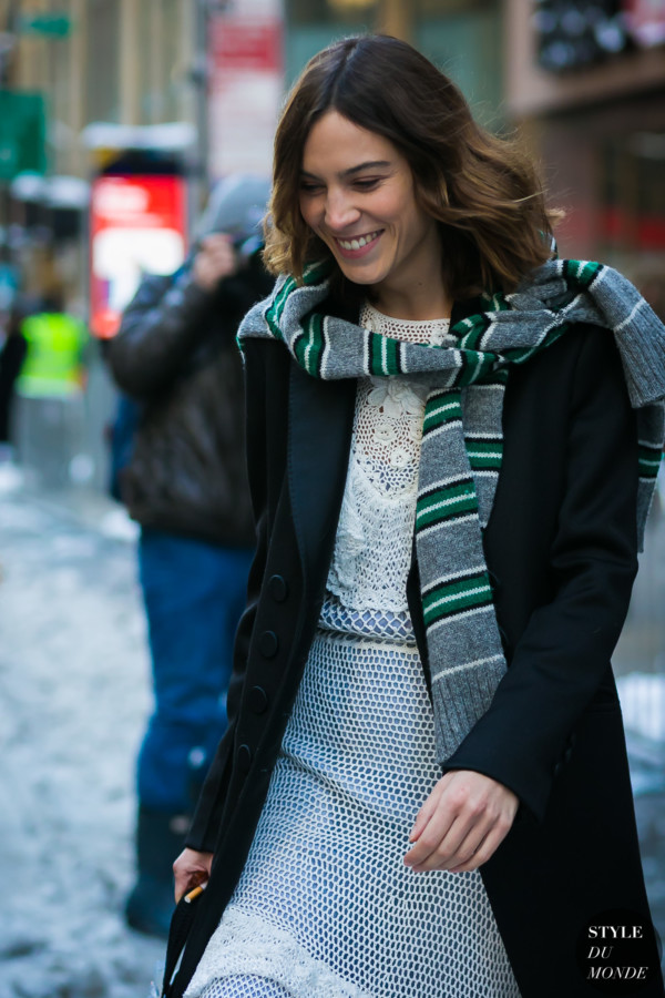 Alexa Chung by STYLEDUMONDE Street Style Fashion Photography