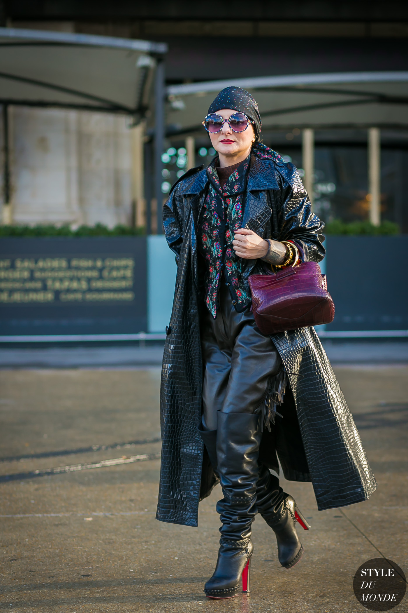 Catherine Baba by STYLEDUMONDE Street Style Fashion Photography
