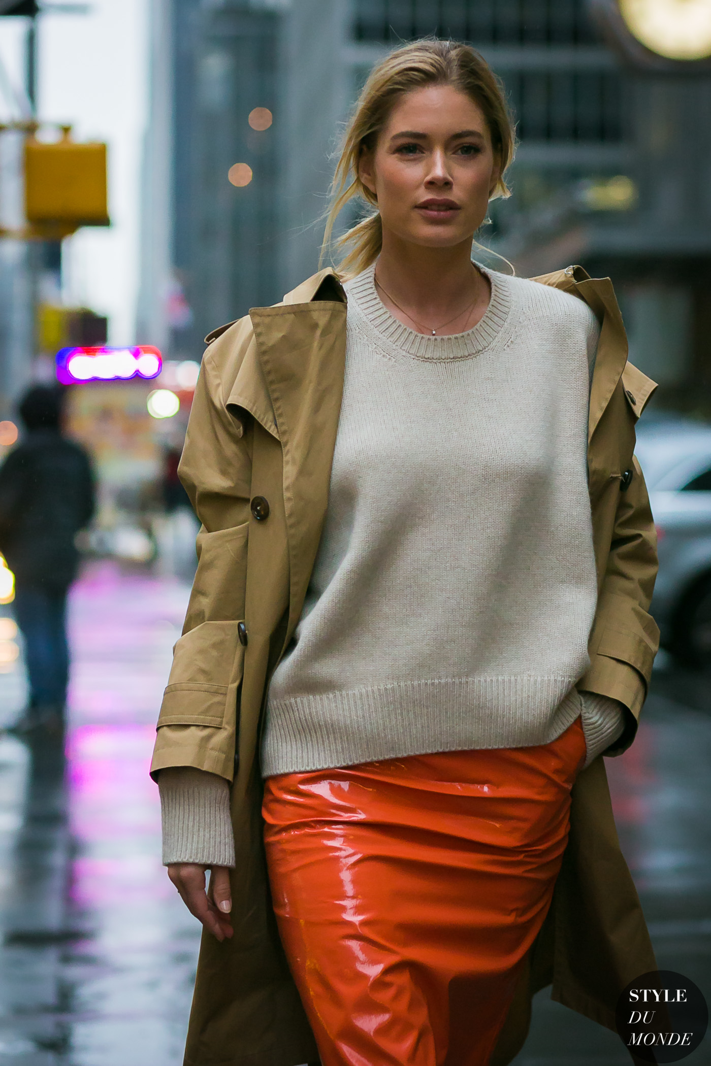Doutzen Kroes by STYLEDUMONDE Street Style Fashion Photography
