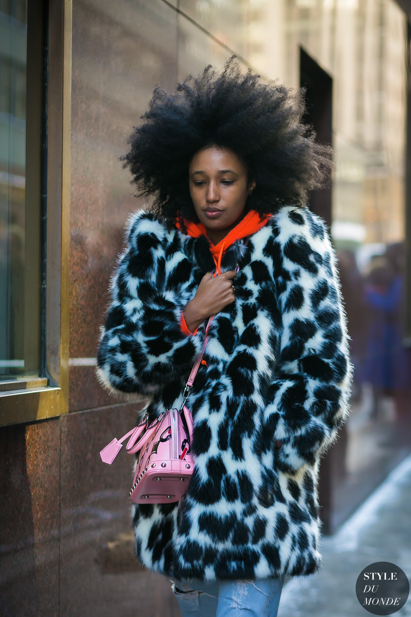 Julia Sarr-Jamois by STYLEDUMONDE Street Style Fashion Photography
